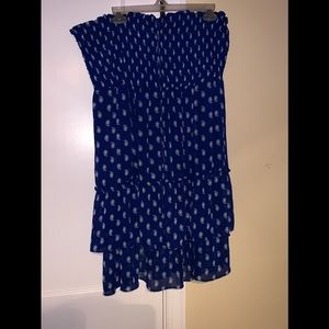 Old Navy dress with halter tie size XXL